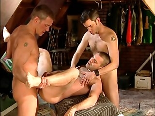hd Eric, Danny, and Cliff be hung up on gay