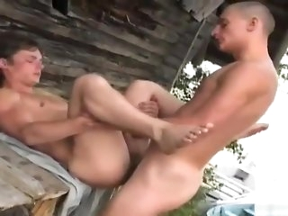 gay Twink abysm throats and spread his butt blowjob