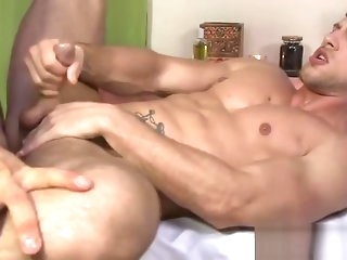 Hairy blot out pounding some tight butt gay