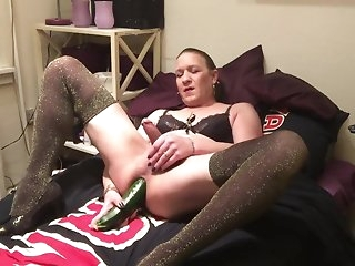 fetish Christmas night blonde