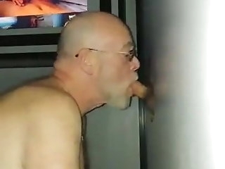 blowjob (gay) Grandpa whose join in matrimony does not perceive bareback (gay)