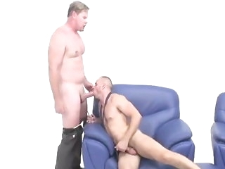 hunk (gay) blowjob (gay)