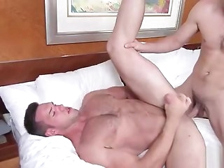 gay Alex realize fuck in a difficulty ass by Johnnys dick blowjob