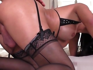big tits Busty trannie cums while bouncing on blarney amateur