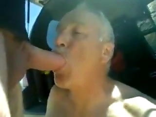 blowjob (gay) What daddy did on along to road pick up summer big cock (gay)